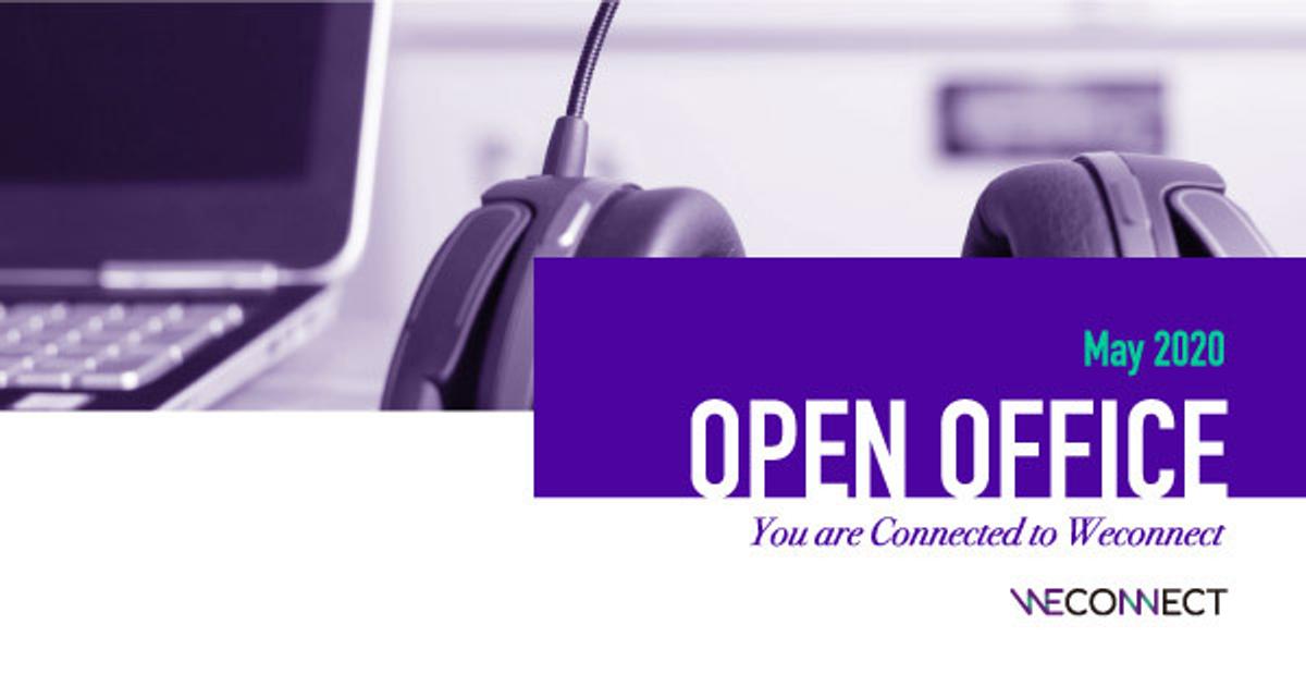 """[오픈오피스] """"위커넥트 팀과 온라인으로 만나요"""" 5월 참가자 모집 이미지"""