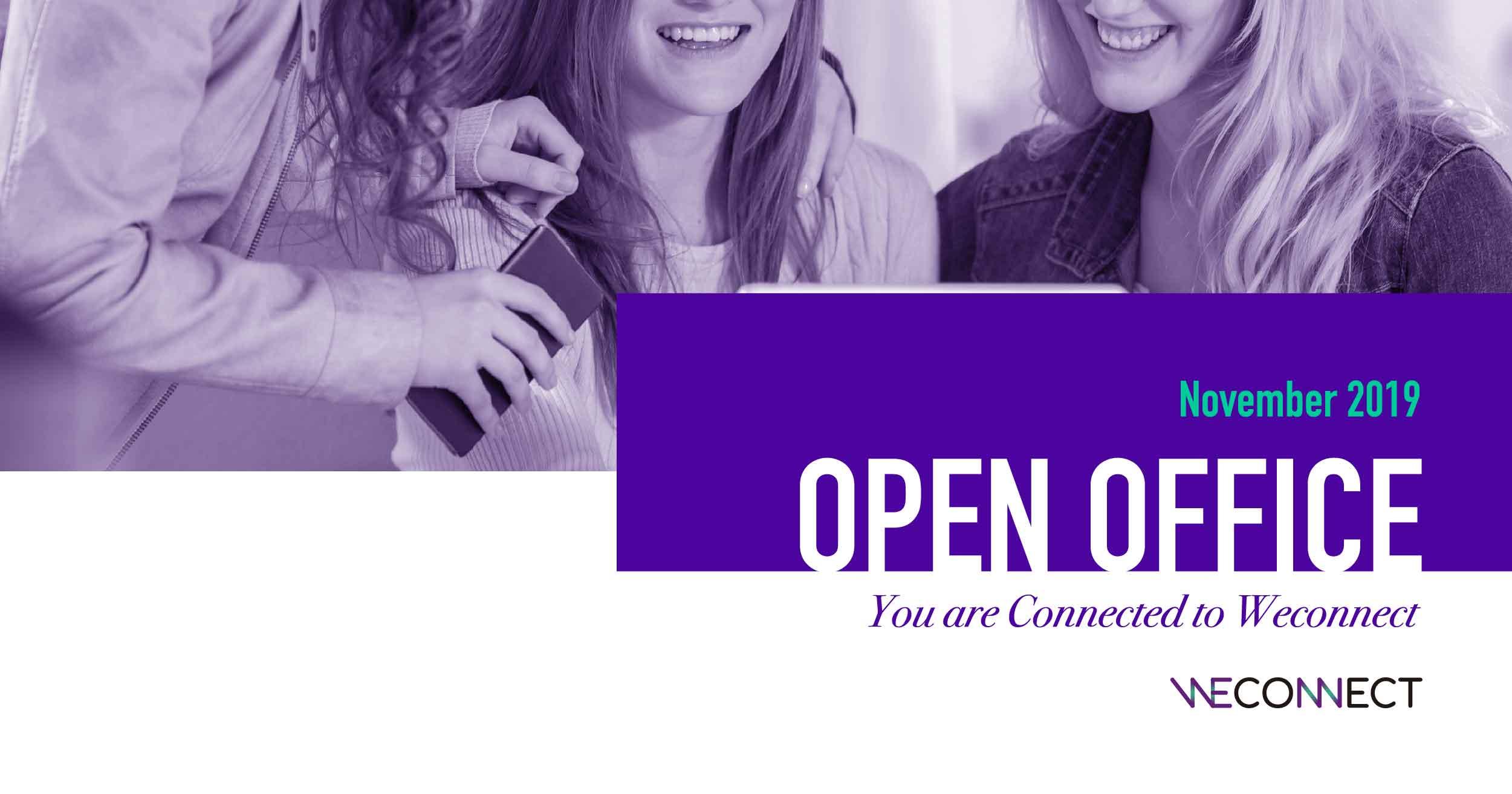 """[오픈오피스] """"위커넥트 팀과 만나요"""" 11월 오픈오피스 참가자 모집 이미지"""